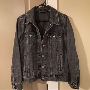 Levi's Black Denim Jacket Small